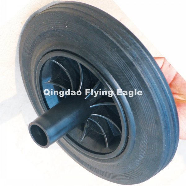 200X50mm Solid Powder Rubber Wheel