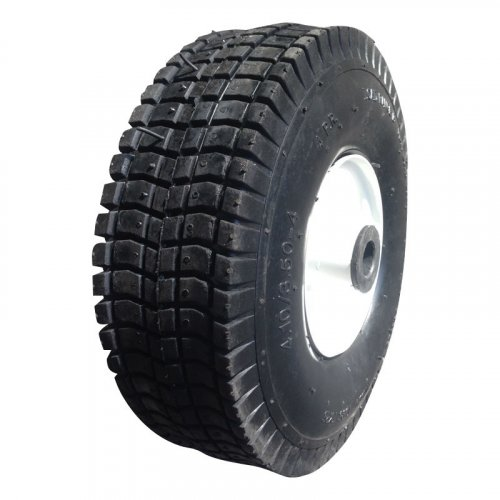 """10 Inch 10""""X3.50-4 Pneumatic Inflatable Rubber Wheel"""