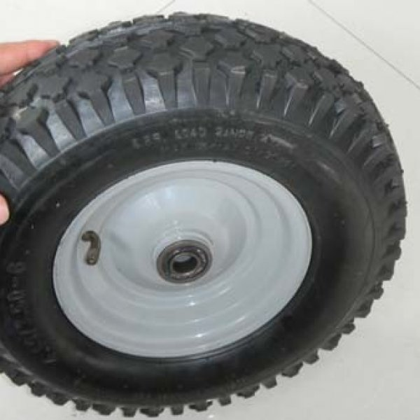 "13 Inch 13""X4.00-6 Pneumatic Inflatable Trolley Rubber Wheel"