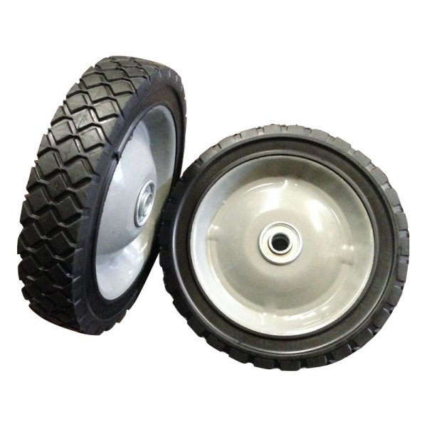 "10 Inch 10""X1.75"" Semi-Pneumatic Solid Rubber Wheel"