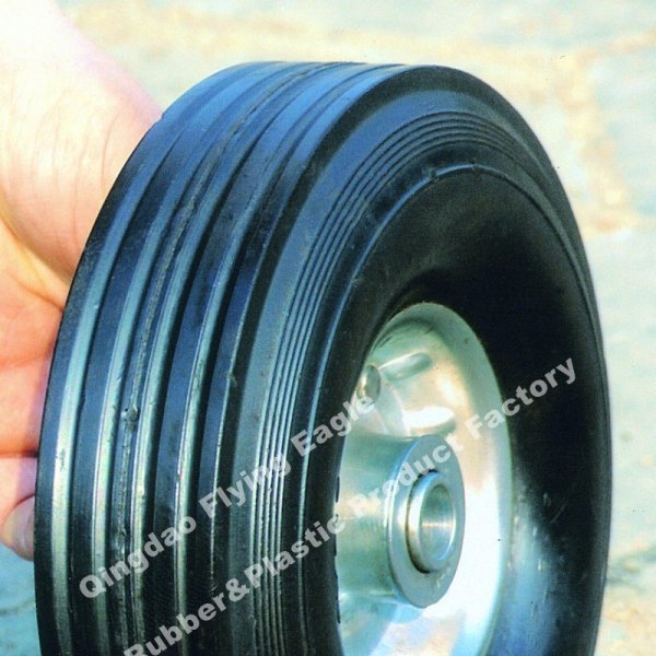 "8""X2.5"" Solid Rubber Wheel for Trolley and Tool Cart"