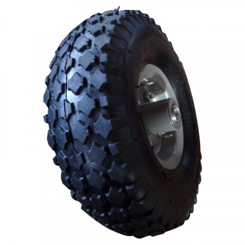 """10inch 10""""X3.00-4 Pneumatic Inflatable Rubber Wheel"""