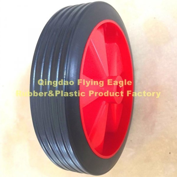 6 Inch Polypropylene and PVC Plastic Wheel for Trolley