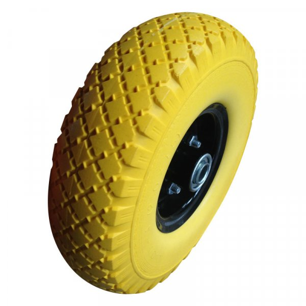 "10 Inch 10""X3.00-4 Carefree PU Foam Trolley Wheels"