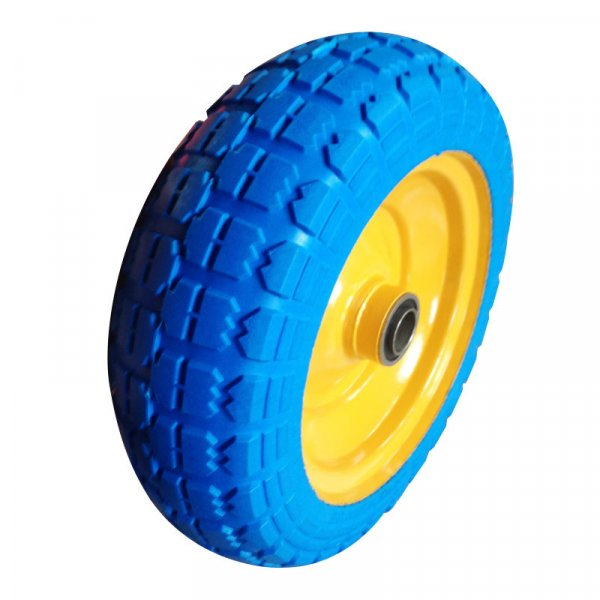 3.00-4 300-4 Flat Free PU Foam Wheel