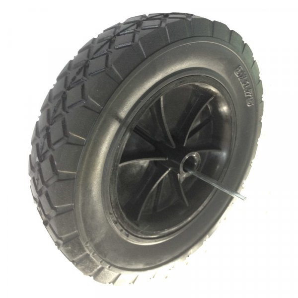 "8 Inch 8""X1.75"" Semi Pneumatic Solid Rubber Wheel"