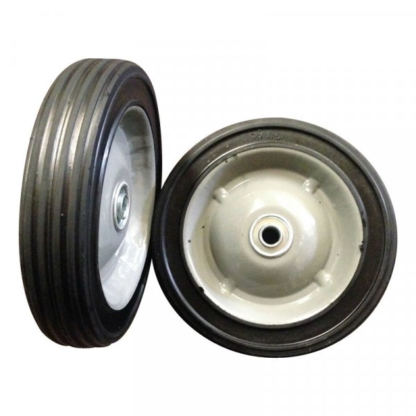 "7 Inch 7""X1.5"" Semi Pneumatic Rubber Wheel"