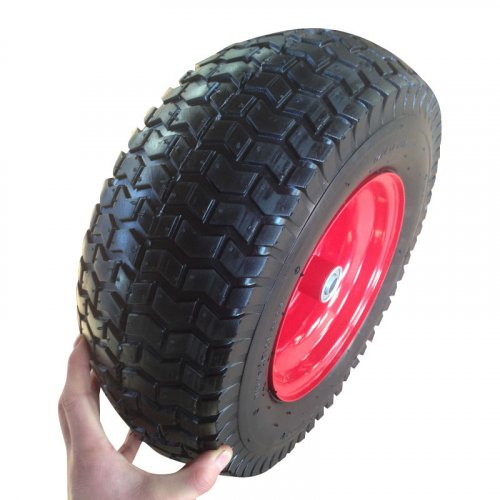 """13 Inch 13""""X4.00-6 Pneumatic Inflatable Trolley Wheel"""