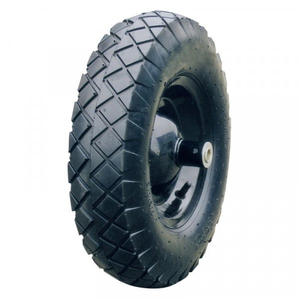 "16 Inch 16""X4.00-8 Tubeless Rubber Wheel"