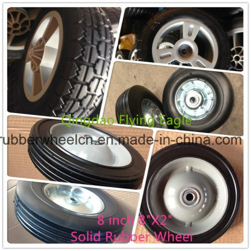 Metal Rims for Rubber Wheels and Polyurethane Wheels