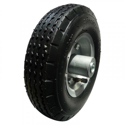 """10inch10""""X2.80/2.50-4 Pneumatic Inflatable Rubber Wheel"""