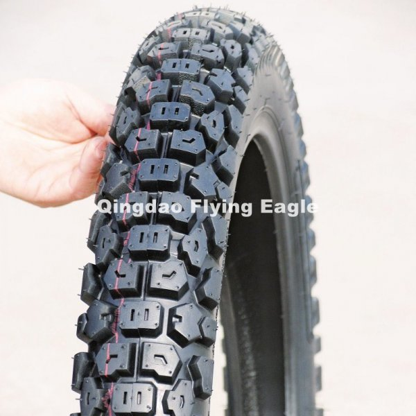 80/90-17 Motorcycle Tyre and Tube