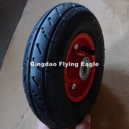 """8inch 8""""X2.50-4 Pneumatic Inflatable Rubber Wheel"""