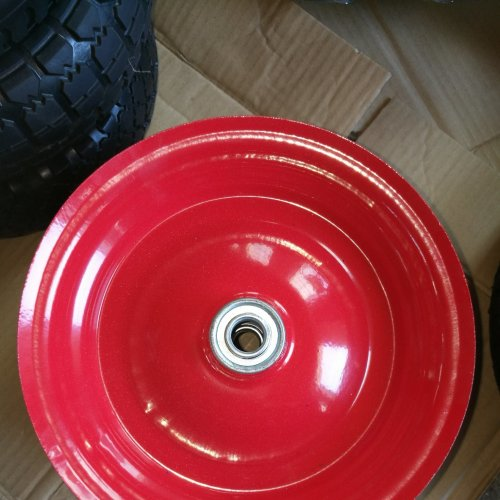 Steel Plastic Rim/Spoke for Wheelbarrow Wheels