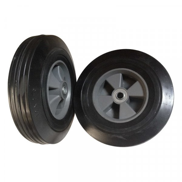 "10 Inch 10""X2.5"" Semi Pneumatic Solid Rubber Wheel"