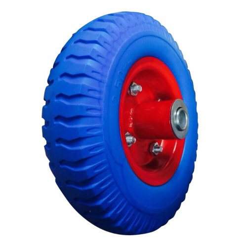 "8""X2.50-4 Polyurethane Rubber Trolley Wheel"