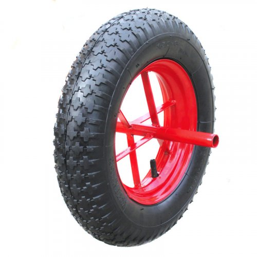 "14 Inch 14""X3.50-8 Pneumatic Inflatable Rubber Wheel"