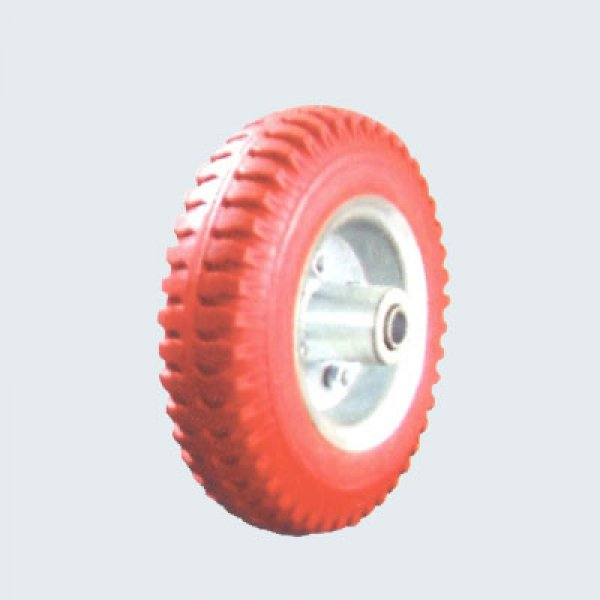 2.50-4 250-4 Flat Free PU Foam Wheel