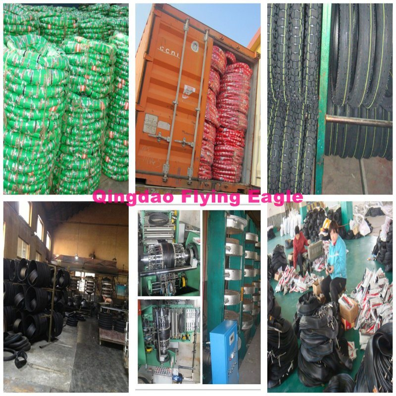 3.00-17 300-17 Motorcycle Tire/Tyre and Tube