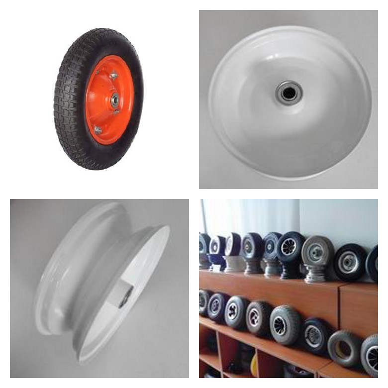3.50-8 Metal Rim/Spoke for Trolley Wheel
