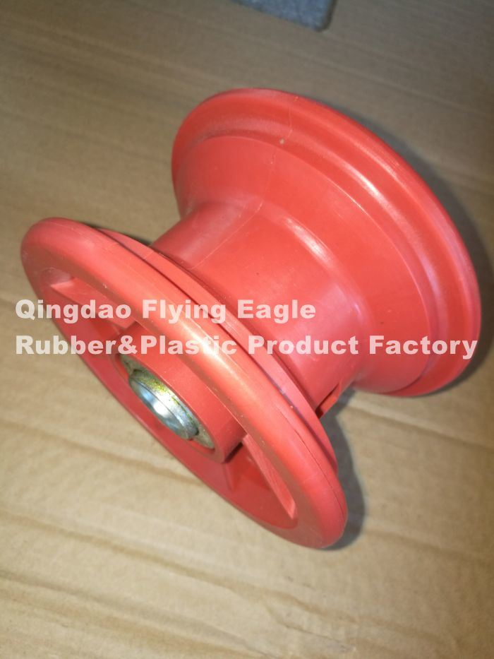 Plastic Rim/Spoke for Rubber Trolley Wheel